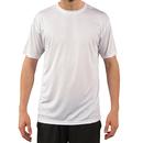 Rendimiento solar de manga corta de la camiseta