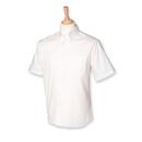 Hombres de manga corta Pinpoint Oxford Shirt