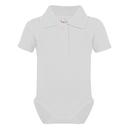 Bio Bodysuit with Polo shirt neck