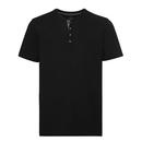 Camiseta Henley HD para hombre