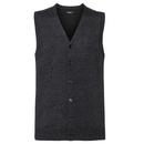 Men`s V-Neck Sleeveless Knitted Cardigan