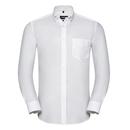 Chemise Oxford boutonnée à manches longues pour homme