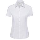Camisa de mujer de manga corta con diseño de espiga