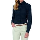 Camicia Twirt Sharp manica lunga affilata / Donna