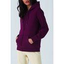 QUEEN Zipped Hood Jacket / Women