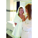 Piped Border Baby Towel With Hood Velor