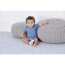 Cache-couche à manches courtes en jersey pour bébé