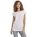 Camiseta orgánica de hombro extendido para mujer