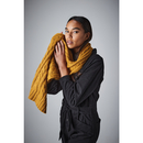 Cable Knit Melange Scarf