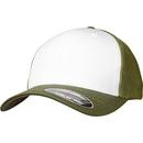 Gorra frontal de malla Flexfit de color
