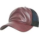 Leather Trucker Cap