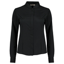 Women`s Tailored Fit Bar Shirt Mandarin Collar Long Sleeve