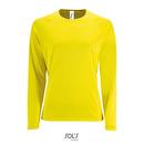 Women`s Long-Sleeve Sports T-Shirt Sporty