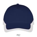 5 Panels Contrasted Cap Booster