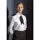 Chemise pilote à manches longues pour femme