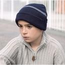 Cappello da sci in lana Junior Thinsulate ™ con banda riflettente