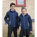 Junior Hooded Soft Shell Jacket