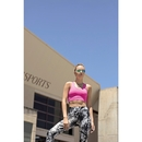 Women`s Work Out Cropped Top