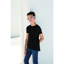 Kids` Longline T with Dipped Hem