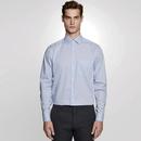 Camisa de hombre Regular Fit Check / Stripes Manga larga