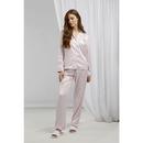Ladies Satin Long Pajamas