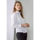 Camicia Oxford Pinpoint a maniche lunghe da donna