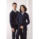 Unisex zip through cardigan