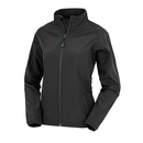 Womens Recycled 2-Layer Printable Softshell Jacket