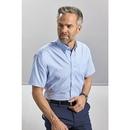 Camisa Oxford clásica de manga corta para hombre