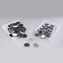 100 Buttons mit Sicherheitsnadel 50mm