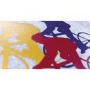 Stahls Flexfolie Sportsfilm silver, 50cm x 1m