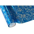 Hot Stamping Foil BOAC01 Floral Blue 30cmx12m