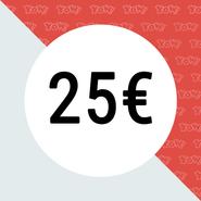YOW! Vale de compra de 25 EUR