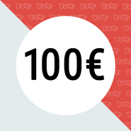 YOW! Shopping voucher worth 100 EUR