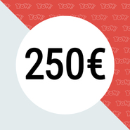 YOW! Shopping voucher worth 250 EUR