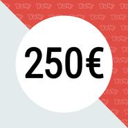 YOW! Vale de compra de 250 EUR
