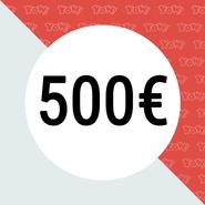 YOW! Vale de compra de 500 EUR