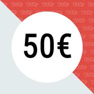 YOW! Einkaufsgutschein im Wert von 50 EUR
