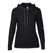 Women´s Lightweight Long Sleeve Hooded Tee