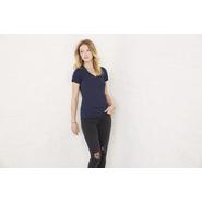 Women´s Triblend Deep V-Neck T-Shirt