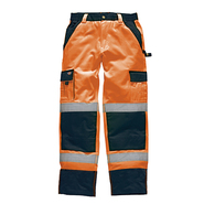 Industry warning protection trousers EN 20471