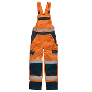 Industry warning protection dungarees EN20471