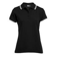 Polo Femme Contraste Rayures Stripes