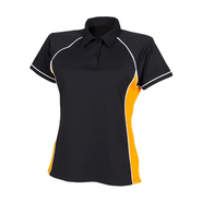 Piped performance polo donna
