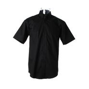 Camisa corporativa de manga corta Oxford para hombre