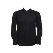 Men´s Chemise Bar Mandarine-Collier à manches longues