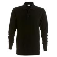 Piqué Polo Shirt Long Sleeved