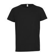 T-shirt manches manches raglan pour enfants Sporty