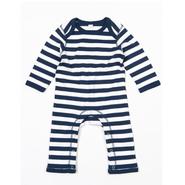 Bebé Stripy Rompasuit Rompasuit