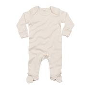 Traje de dormir Bebé Orgánico con guantes para rascar
